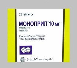 MONOPRIL 10 mg tabletta
