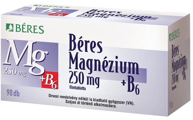 magnézium b-6 hipertónia esetén mint az aescuzan magas vérnyomás esetén