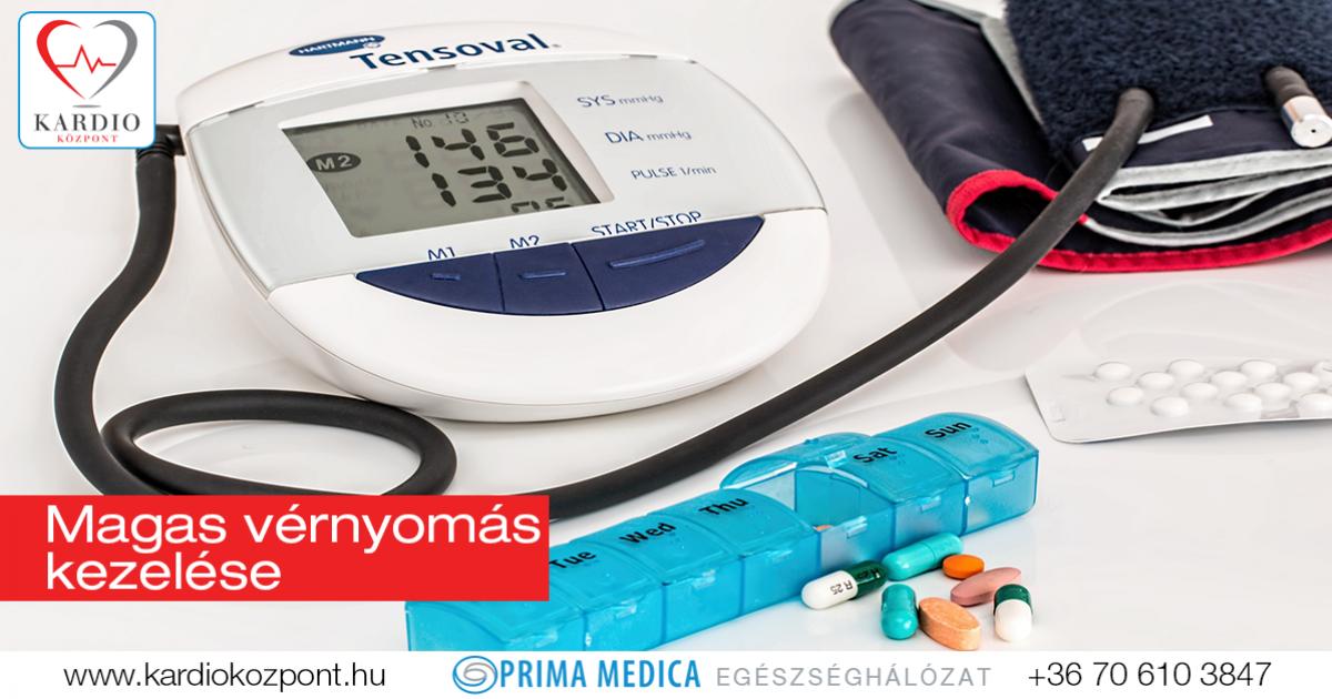 a magas vérnyomás kezelésének elve
