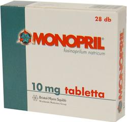 Monopril tabletta