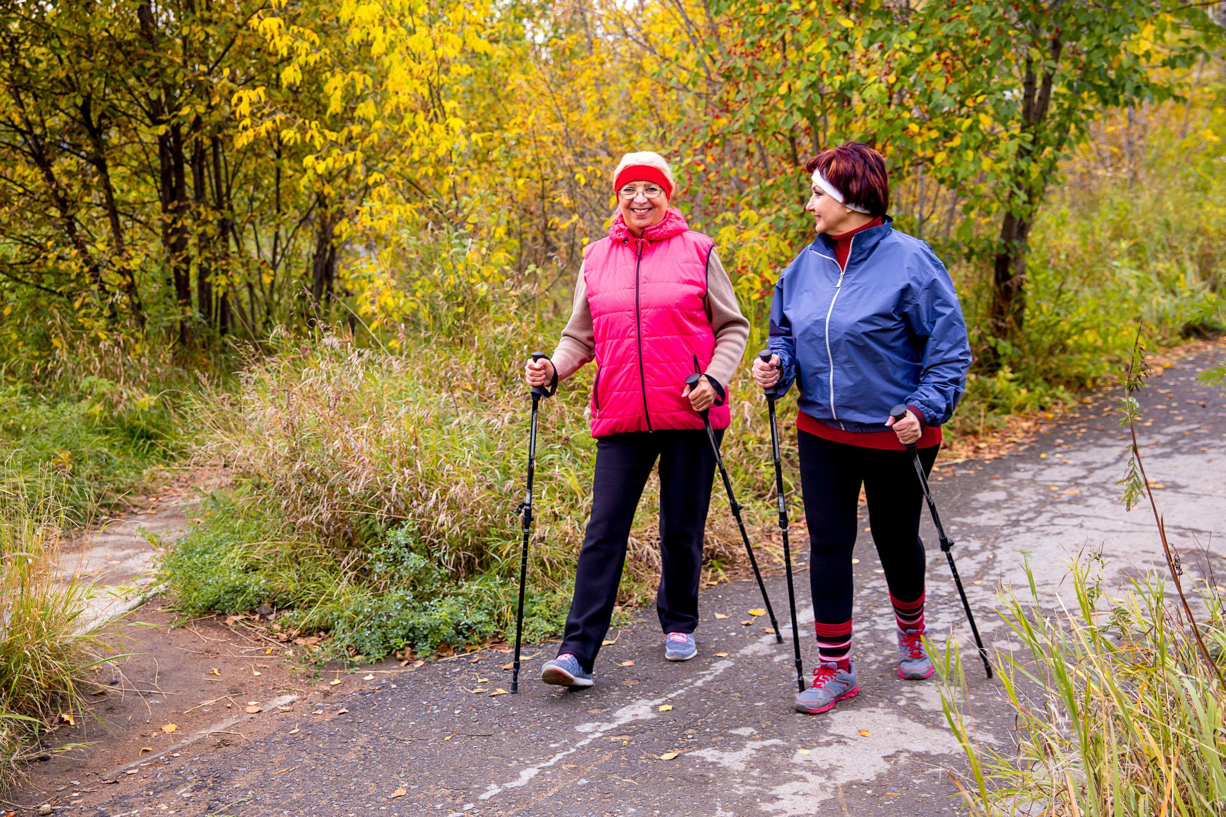 magas vérnyomás esetén gyakorolhatja a nordic walkingot