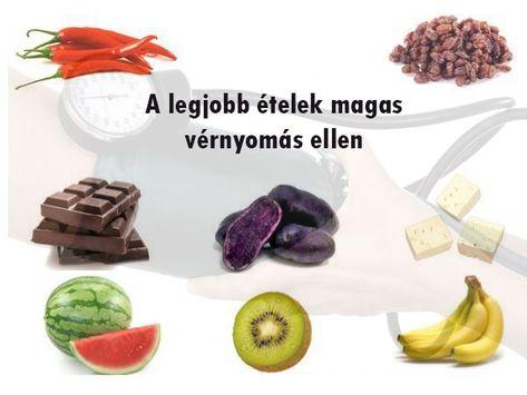 ételek magas vérnyomásért táblázat