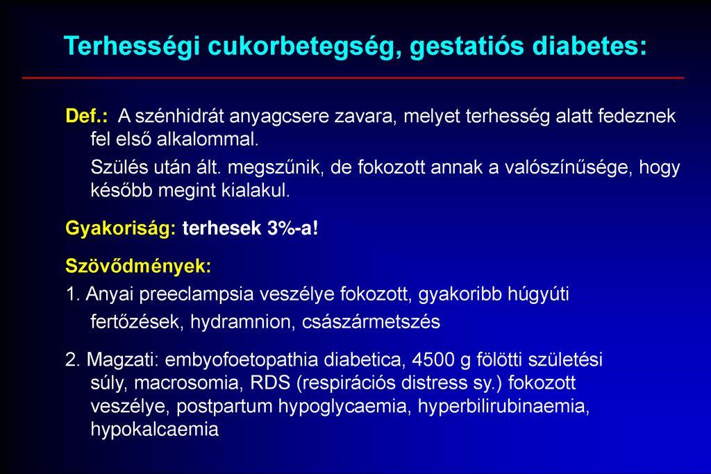 fogyatékosság diabetes mellitus magas vérnyomás nikotinsav hipertónia