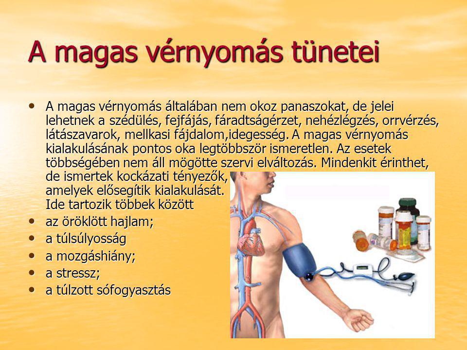 hisztamin és magas vérnyomás