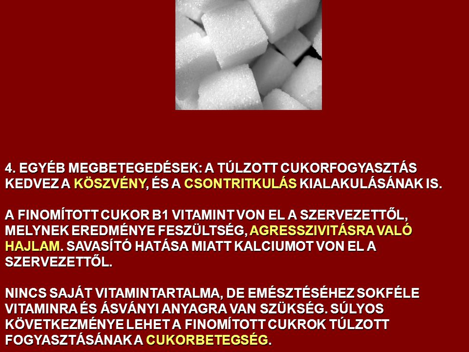a cukor hipertóniás hatása magas vérnyomás fiatalon