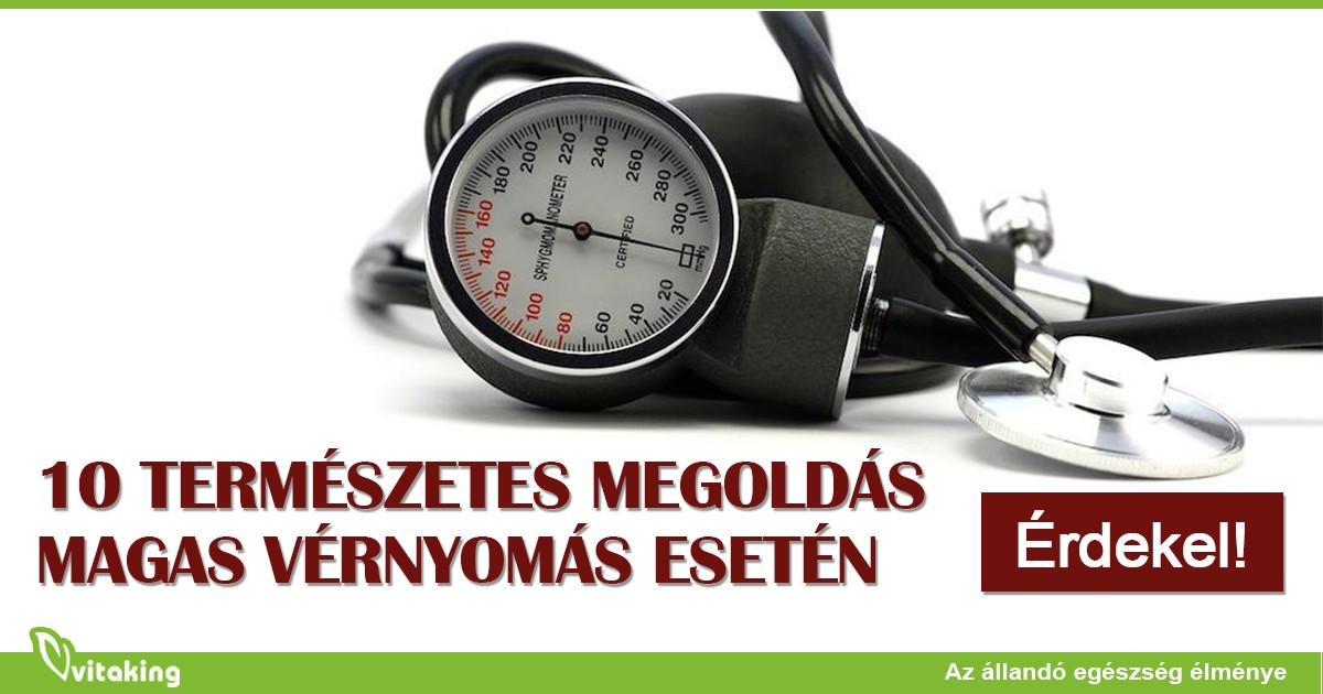 magas vérnyomás az idősek étrendjében