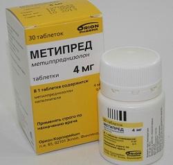 METYPRED 4 mg tabletta