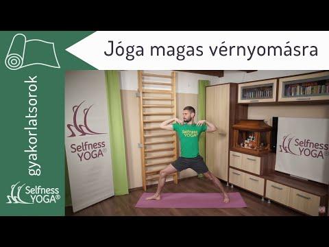 magas vérnyomás gyakorló videó