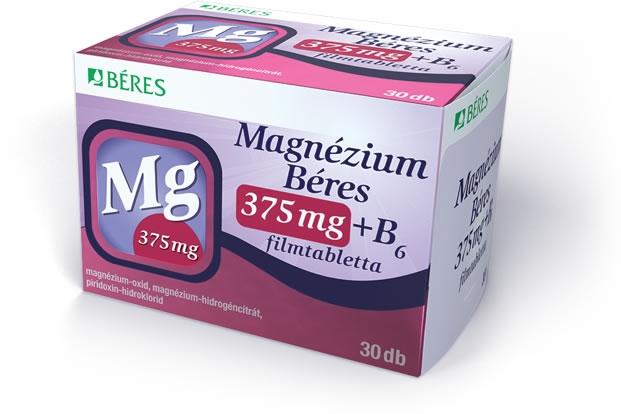 magnézium b-6 hipertónia esetén magas vérnyomás kezelése celandinlével