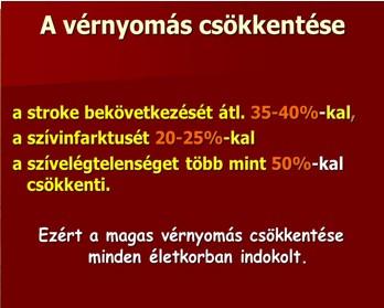 Vérnyomás: normák kor szerint (táblázat) - Embólia