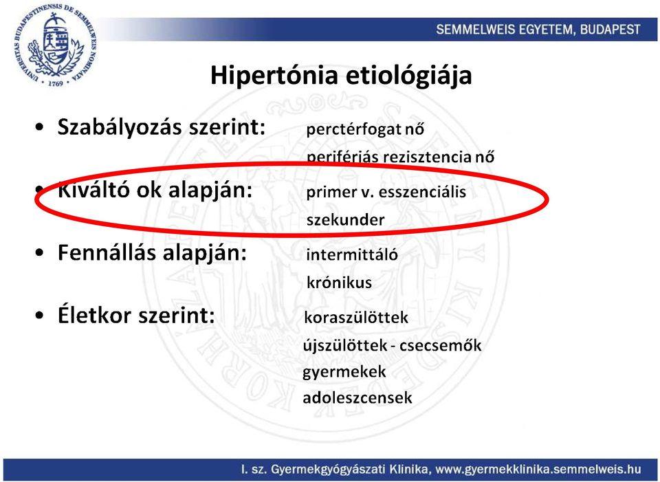 vaszkuláris hipertónia
