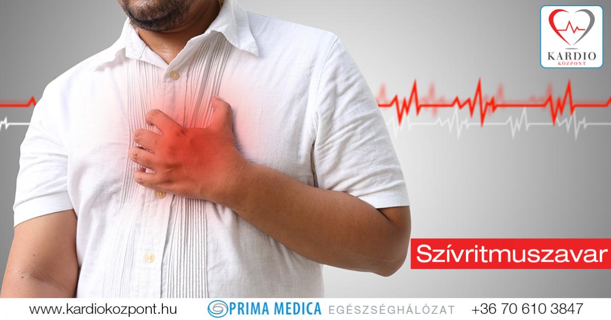 A leggyakoribb szívritmuszavar: pitvarfibrilláció