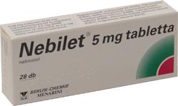 NEBILET PLUS gyógyszer leírása, hatása, mellékhatásai